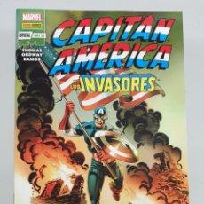 Cómics: MARVEL 80º ANIVESARIO : CAPITAN AMERICA Y LOS INVASORES : EL TRIANGULO DE LOS BAHAMAS /. Lote 210286608