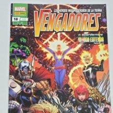 Cómics: LOS VENGADORES VOL 4 Nº 117 - 18 - JASON AARON / MARVEL PANINI. Lote 210286755