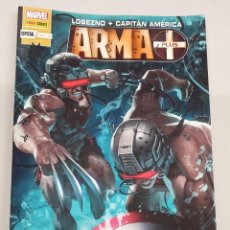 Cómics: LOBEZNO : CAPITAN AMERICA - ARMA-X PLUS ESPECIAL / MARVEL - PANINI. Lote 210287688