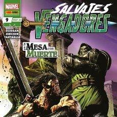 Cómics: SALVAJES VENGADORES 09. Lote 210327793