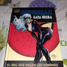 Comics : SPIDERMAN Y LA GATA NEGRA MARVEL DELUXE PANINI. Lote 210419705