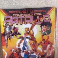 Cómics: SECRET WARS MUNDO DE BATALLA 1-2-5-6-7. Lote 210485581