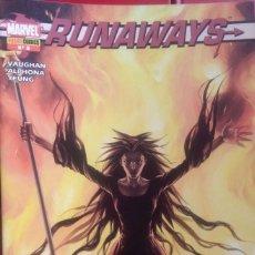 Cómics: RUNNAWAYS 8. Lote 210537283