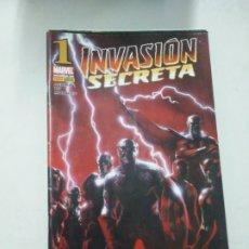 Cómics: INVASIÓN SECRETA, PANINI COMICS (MARVEL) DEL 1 AL 8. Lote 210543632