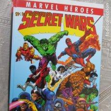 Cómics: SECRET WARS . MARVEL HEROES - INTEGRAL . PANINI COMICS -550 PAGINAS - NUEVO. Lote 210780007