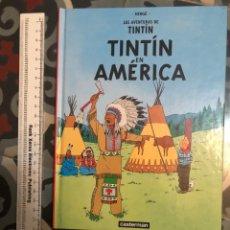 Cómics: TINTIN EN AMERICA CARTONE PANINI CASTERMAN. Lote 210789497