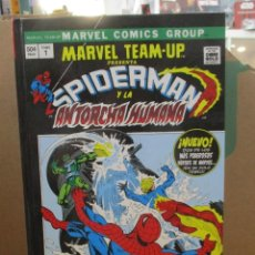 Cómics: MARVEL TEAM-UP - SPIDERMAN Y LA ANTORCHA HUMANA - Nº 1 - OMNIGOLD - MARVEL / PANINI. Lote 210946329