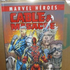 Cómics: CABLE & MASACRE / CIVIL WAR / MARVEL HEROES - OMNIGOLD - MARVEL / PANINI. Lote 210948177