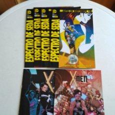 Cómics: LOTE DE 6 CÓMIC X-MEN Y ESPECTRO DE SEDA. Lote 211658349