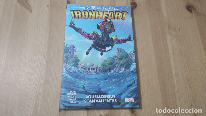RIRI WILLIAMS: IRONHEART (TOMO 1), DE PANINI COMICS (EVE L. EWING) (Tebeos y Comics - Panini - Marvel Comic)