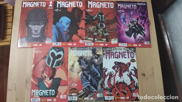 X-MEN: MAGNETO (COMPLETA), DE PANINI COMICS (CULLEN BUNN & GABRIEL HERNÁNDEZ WALTA) (Tebeos y Comics - Panini - Marvel Comic)