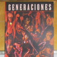Cómics: GENERACIONES / PASADO Y FUTURO DEL UNIVERSO / INTEGRAL / PANINI / MARVEL MUY BUEN ESTADO. Lote 211818128