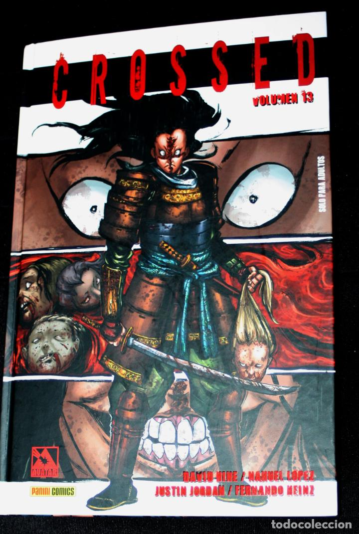 CROSSED NÚM. 13 -- REBAJADO-- (Tebeos y Comics - Panini - Otros)