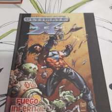Cómics: ULTIMATE X-MEN FUEGO INFERNAL Y AZUFRE BEST OF MARVEL ESSENTIALS. Lote 212220596