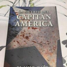 Cómics: LA MUERTE DEL CAPITÁN AMÉRICA 100% MARVEL PANINI. Lote 212221811