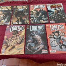 Cómics: LOBEZNO-EL REGRESO DE LA NATIVA PARTES (1,2,3,4,5,6 Y7)COMPLETA-MARVEL-PANINI 29,30,31,32,33,34,35. Lote 212902423