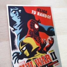 Cómics: DE KIOSCO CIVIL WAR II 5 CUBIERTA DE CHO Y DAVILA PANINI COMICS. Lote 212961942
