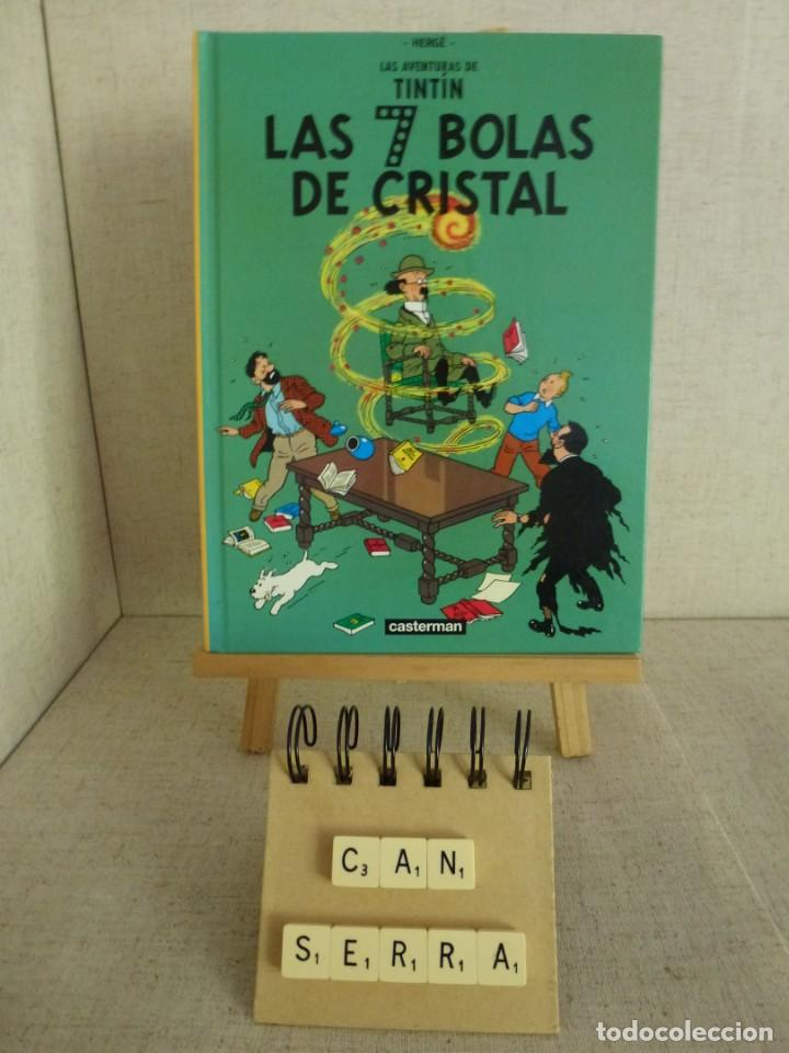 TINTÍN LAS 7 BOLAS DE CRISTAL HERGÉ CASTERMAN PANINI FORMATO PEQUEÑO (Tebeos y Comics - Panini - Otros)