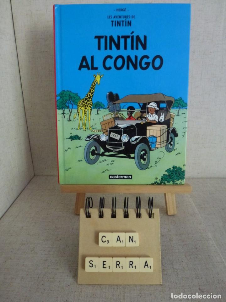 TINTÍN AL CONGO HERGÉ CASTERMAN PANINI CATALÀ FORMATO PEQUEÑO (Tebeos y Comics - Panini - Otros)
