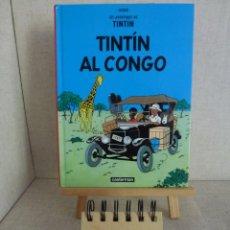 Cómics: TINTÍN AL CONGO HERGÉ CASTERMAN PANINI CATALÀ FORMATO PEQUEÑO. Lote 213957285