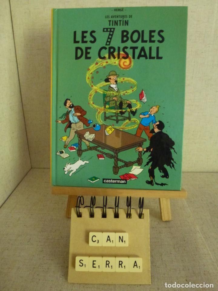 TINTÍN LES 7 BOLES DE CRISTALL HERGÉ CASTERMAN PANINI CATALÀ FORMATO PEQUEÑO (Tebeos y Comics - Panini - Otros)