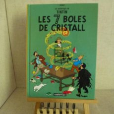 Cómics: TINTÍN LES 7 BOLES DE CRISTALL HERGÉ CASTERMAN PANINI CATALÀ FORMATO PEQUEÑO. Lote 238048290