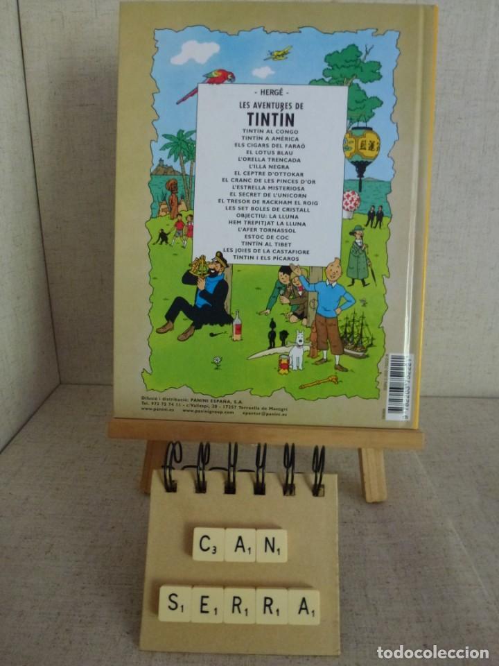 Cómics: Tintín Les 7 boles de cristall Hergé Casterman Panini Català formato pequeño - Foto 2 - 238048290