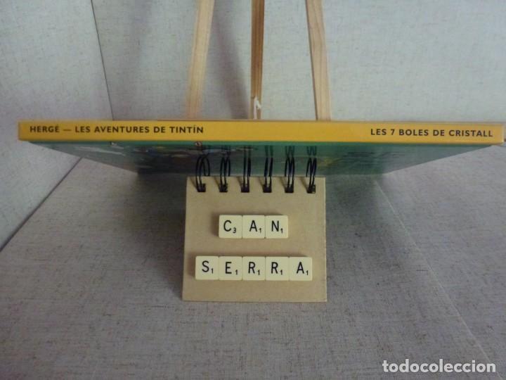 Cómics: Tintín Les 7 boles de cristall Hergé Casterman Panini Català formato pequeño - Foto 3 - 238048290