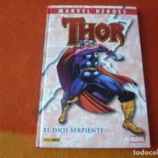 Cómics: THOR EL DIOS SERPIENTE ( DEFALCO RON FRENZ ) TAPA DURA MARVEL HEROES 28 PANINI. Lote 242257120