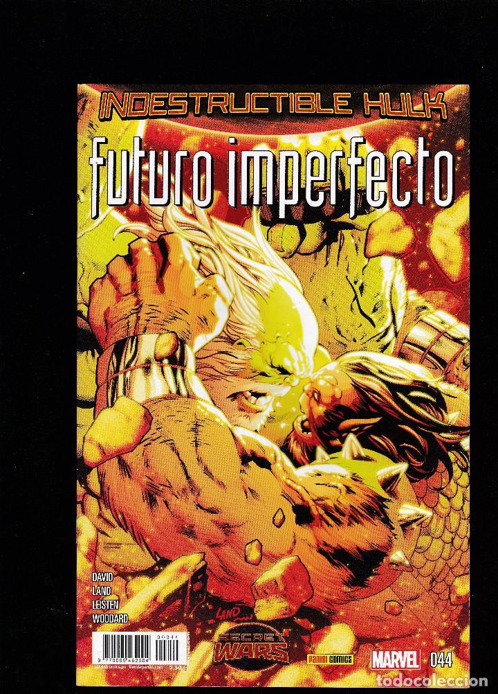 INDESTRUCTIBLE HULK - Nº 44 044 - SECRET WARS: FUTURO IMPERFECTO - ENERO 2016 - PANINI - (Tebeos y Comics - Panini - Marvel Comic)