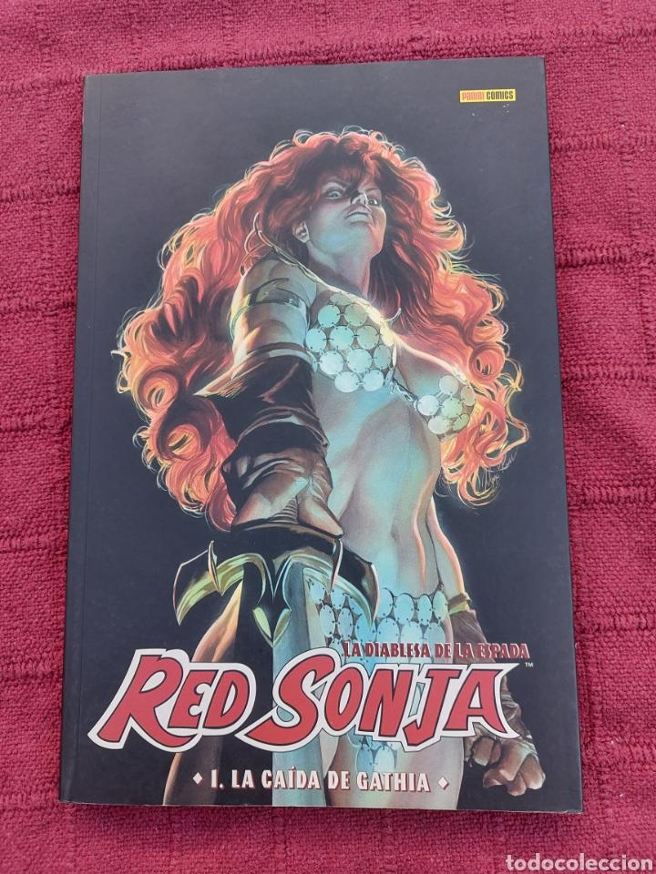 RED SONJA-LA CAÍDA DE GATHIA 1-FANTASIA HEROICA-ESPADA Y BRUJERIA AMIGA DE CONAN EL BARBARO -COMIC (Tebeos y Comics - Panini - Otros)