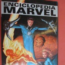 Fumetti: ENCICLOPEDIA MARVEL VOL. 1 - LOS 4 FANTÁSTICOS - EDITA PANINI MARVEL 2005.. Lote 214422088