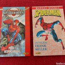 Cómics: MARVEL HEROES SPIDERMAN INTEGRAL FRANK MILLER-ULTIMATE SPIDERMAN PODER Y RESPONSABILIDAD. Lote 214425977