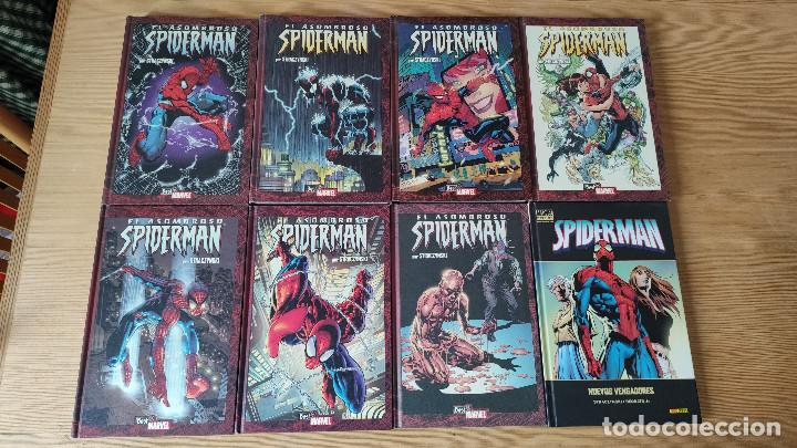 BEST OF MARVEL ESSENTIALS: AMAZING SPIDERMAN (1-8), DE PANINI COMICS (JOE MICHAEL STRACZYNSKI) (Tebeos y Comics - Panini - Marvel Comic)