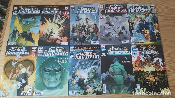 LOS 4 FANTÁSTICOS VOL 7 (101-118), DE PANINI COMICS (ETAPA DAN SLOTT CASI COMPLETA ACTUALIDAD) (Tebeos y Comics - Panini - Marvel Comic)