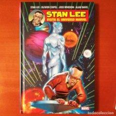 Cómics: STAN LEE VISITA EL UNIVERSO MARVEL PANINI CÓMICS. Lote 214558546