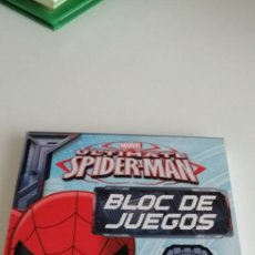 Cómics: G-31 LIBRO MARVEL ULTIMATE SPIDER-MAN BLOC DE JUEGOS. Lote 214564316