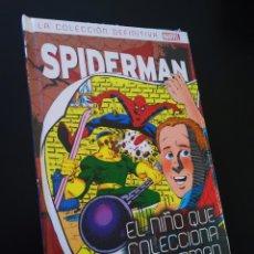 Cómics: DE KIOSCO SPIDERMAN 13 EL NIÑO QUE COLECCIONA SPIDERMAN LA COLECCION DEFINITIVA PANINI PRECINTADO. Lote 214605788
