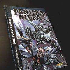 Cómics: DE KIOSCO PANTERA NEGRA 1 DOS POR LAS MALAS TOMO PANINI. Lote 214620533