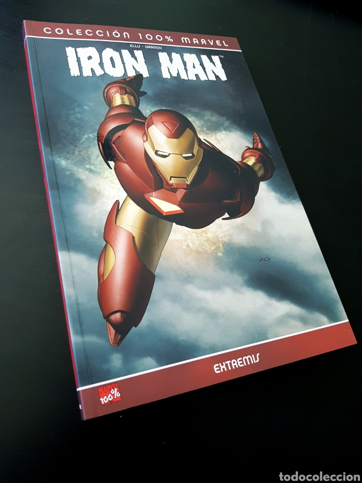 DE KIOSCO IRON MAN EXTREMIS COLECCION 100% MARVEL TOMO PANINI (Tebeos y Comics - Panini - Marvel Comic)