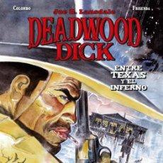Cómics: DEADWOOD DICK 2 : ENTRE TEXAS Y EL INFIERNO - PANINI / BONELLI / COMIC EUROPEO / TAPA DURA. Lote 214855065