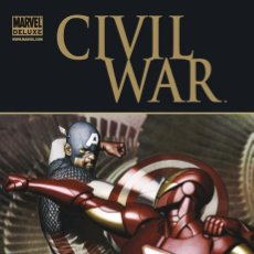 Comics: IRON MAN. CIVIL WAR. MARVEL DELUXE. PANINI. TAPA DURA. Lote 214900223