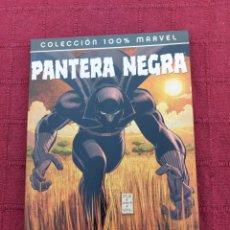 Cómics: COLECCION 100 % MARVEL PANTERA NEGRA-¿QUIEN ES PANTERA NEGRA?. Lote 215029690