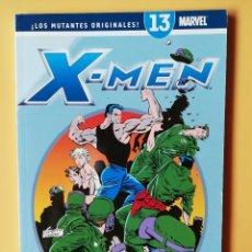 Cómics: X-MEN. ¡LOS MUTANTES ORIGINALES! ¡JUEGOS MORTALES!. PANINI REVISTAS. NÚMERO 13 (DE 25) DIVERSOS AUTO. Lote 215061782