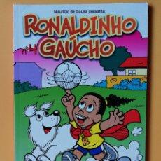Cómics: RONALDINHO GAÚCHO. PANINI REVISTAS, 4 - MAURICIO DE SOUSA. Lote 215061805