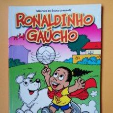 Cómics: RONALDINHO GAÚCHO. PANINI REVISTAS, 4 - MAURICIO DE SOUSA. Lote 215061825