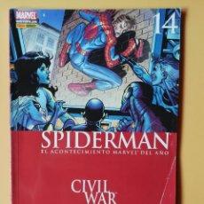 Cómics: SPIDERMAN. CIVIL WAR. EL ACONTECIMIENTO MARVEL DEL AÑO. AÑO 2. VOL. 2. NÚMERO 4 - J. MICHAEL STRACZY. Lote 215061845