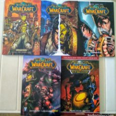 Cómics: WORLD OF WARCRAFT. SERIE COMPLETA 5 TOMOS. Lote 215350236