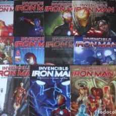 Cómics: INVENCIBLE IRON MAN Nº 76-86 . PANINI. (FOTOS ADICIONALES). Lote 215792285
