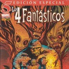 """Cómics: CÓMIC """" LOS 4 FANTÁSTICOS """" Nº 5 V.6 ED, ESPECIAL PANINI 48 PGS.. Lote 215896045"""